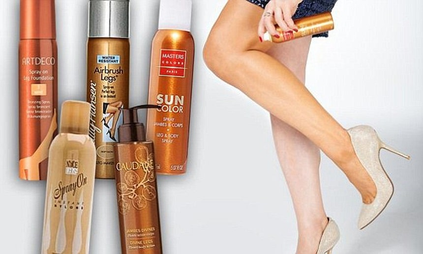 how to cover spider veins on legs