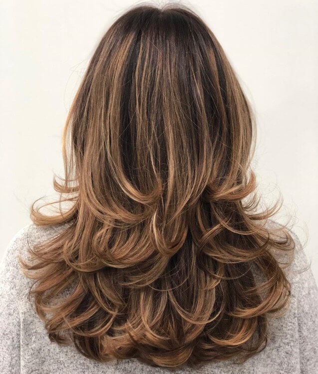 Choppy Layers for Long hairs
