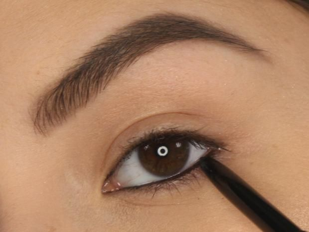 Line Your Waterline to make your eyes look smaller