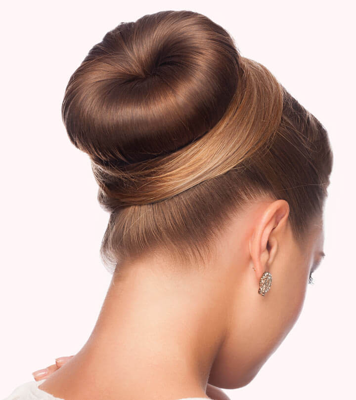 buns for round faces