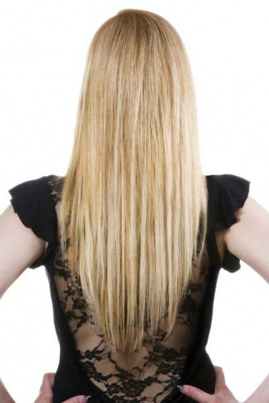 Tapered Ends for Long hairs