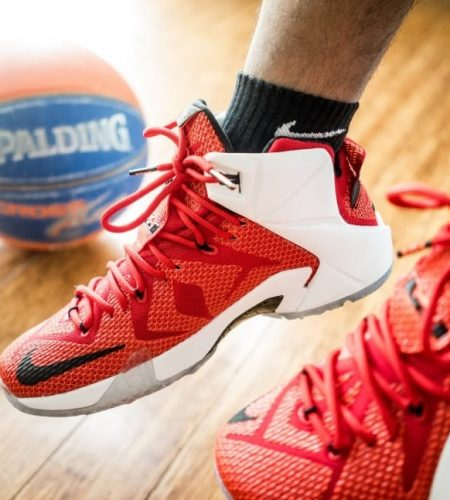 Right Shoes In Playing Basketball